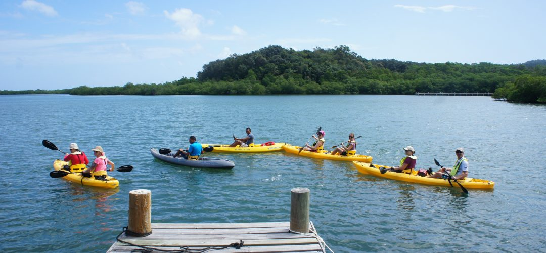 Kayaking Roatan