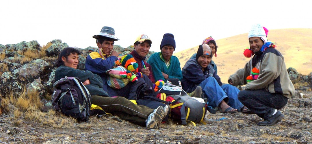 Peru Porters chillaxin