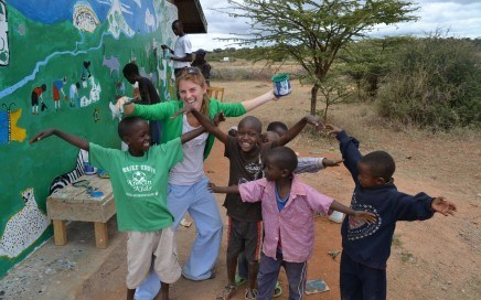 Volunteer in Kenya