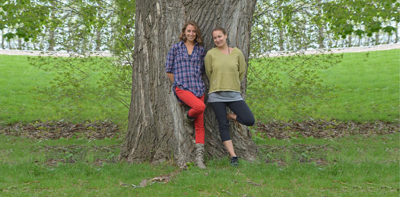 Amanda Huculak and Lori Fast