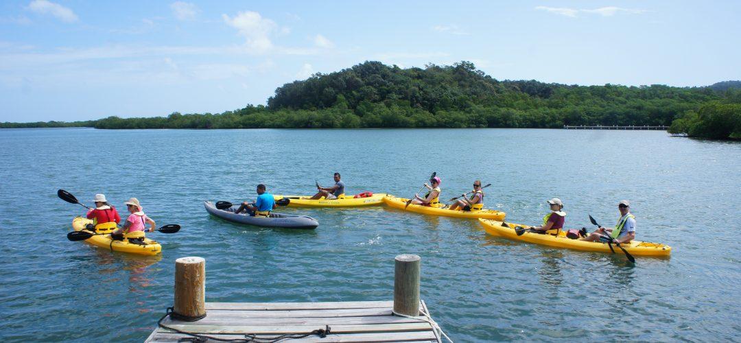 Kayaking Roatan