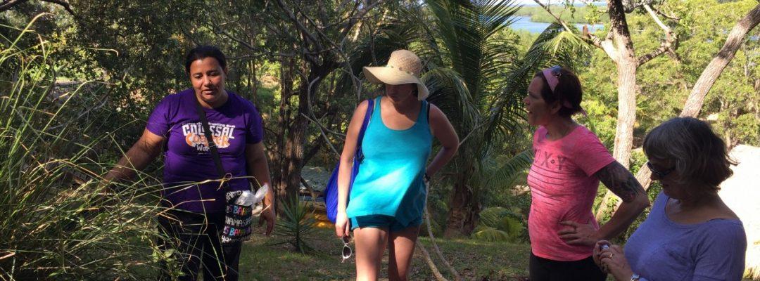 Nature walk Roatan Island